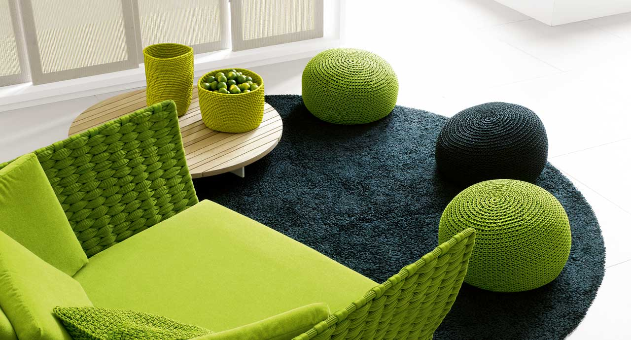 picot paola lenti. Black Bedroom Furniture Sets. Home Design Ideas